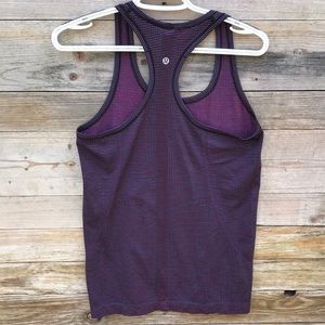 lululemon athletica Tops - Lululemon | Swiftly multicolor striped tank top 8